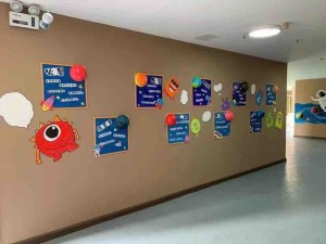 幼儿园星空主题墙