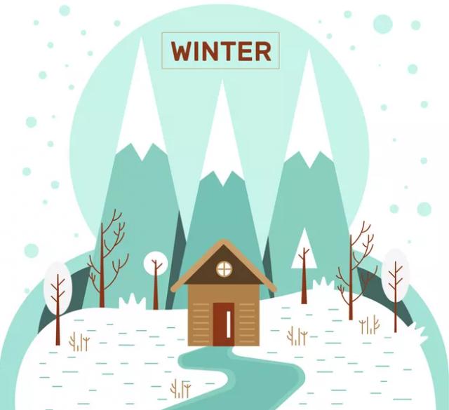 绘画 | 什么样的装饰画更适合冬天?我们给你6个灵感!
